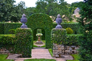 Jardins d'Eyrignac, Dordogne, France, Chateau