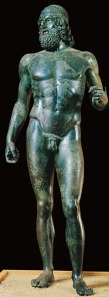 Riace Bronze Warrior, Calabria, Italy, Greek, Age of Pericles