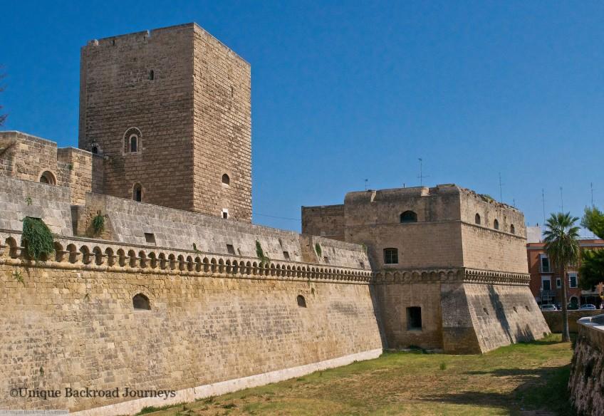 Normans, Normans in Italy, Norman Castle, Bari, Puglia, Italy, Heel of Boot
