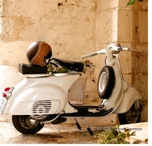 Italy, Vespa, Motor Scooter